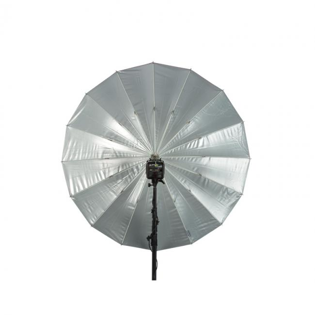 64 soft silver PLM umbrella opened
