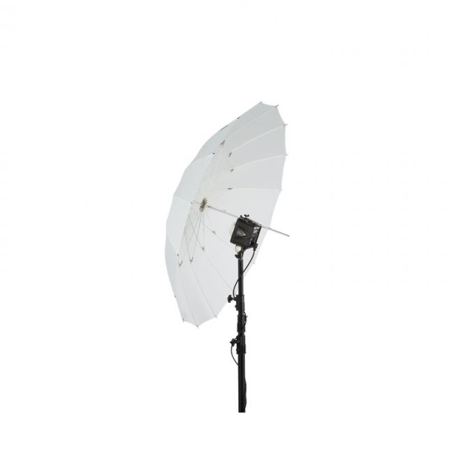 51 white PLM umbrella angled