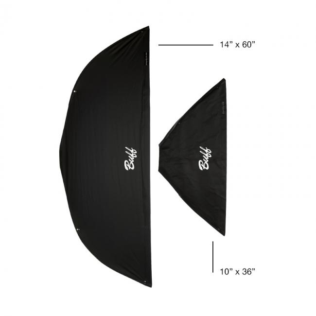 10 inch by 36 inch foldable strip box comparison