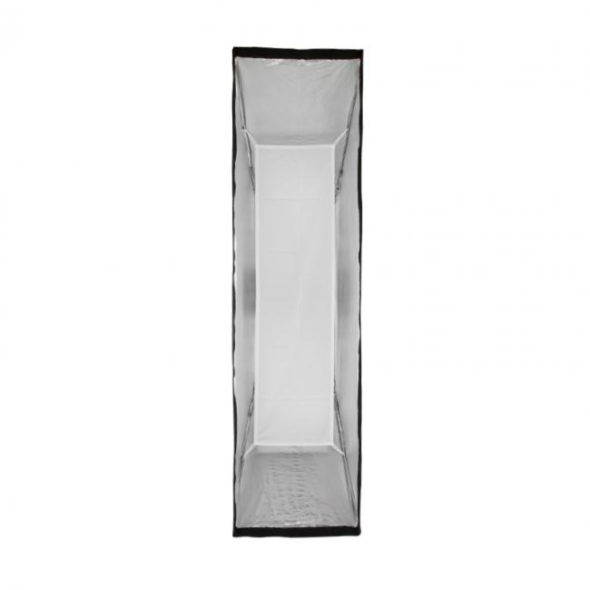 14 inch by 60 inch foldable strip box inner baffle
