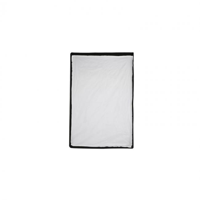 24 inch by 36 inch foldable medium softbox with outer diffusion fabric