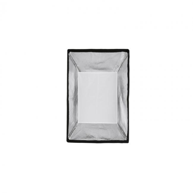 24 inch by 36 inch foldable medium softbox with inner baffle