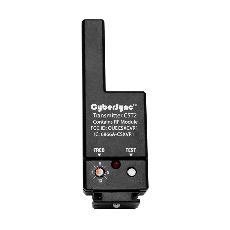 Splitter nya Paul C. Buff, Inc. | CyberSync™ Trigger Transmitter 2 CH-63
