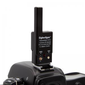 cybersync trigger transmitter on camera