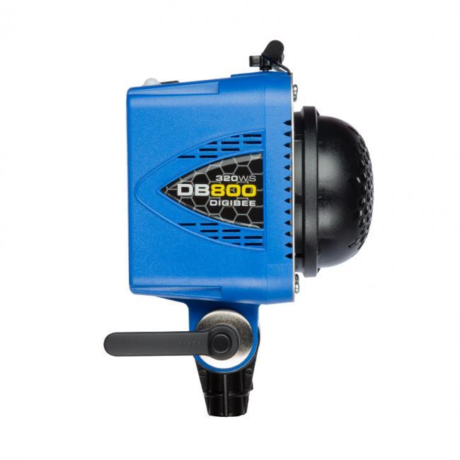 DigiBee db800 flash unit in blue