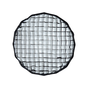 24 White Foldable Beauty Dish with Grid