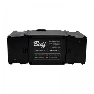 LINK battery charger with two batteries