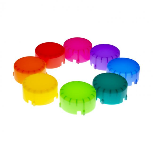 Color Gel Domes for LINK flash unit (set of 8)