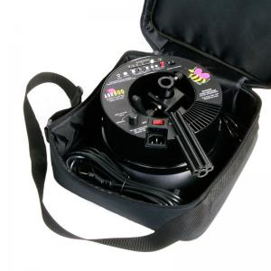 alienates ring flash carrying bag opened