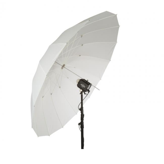86 white PLM umbrella angled