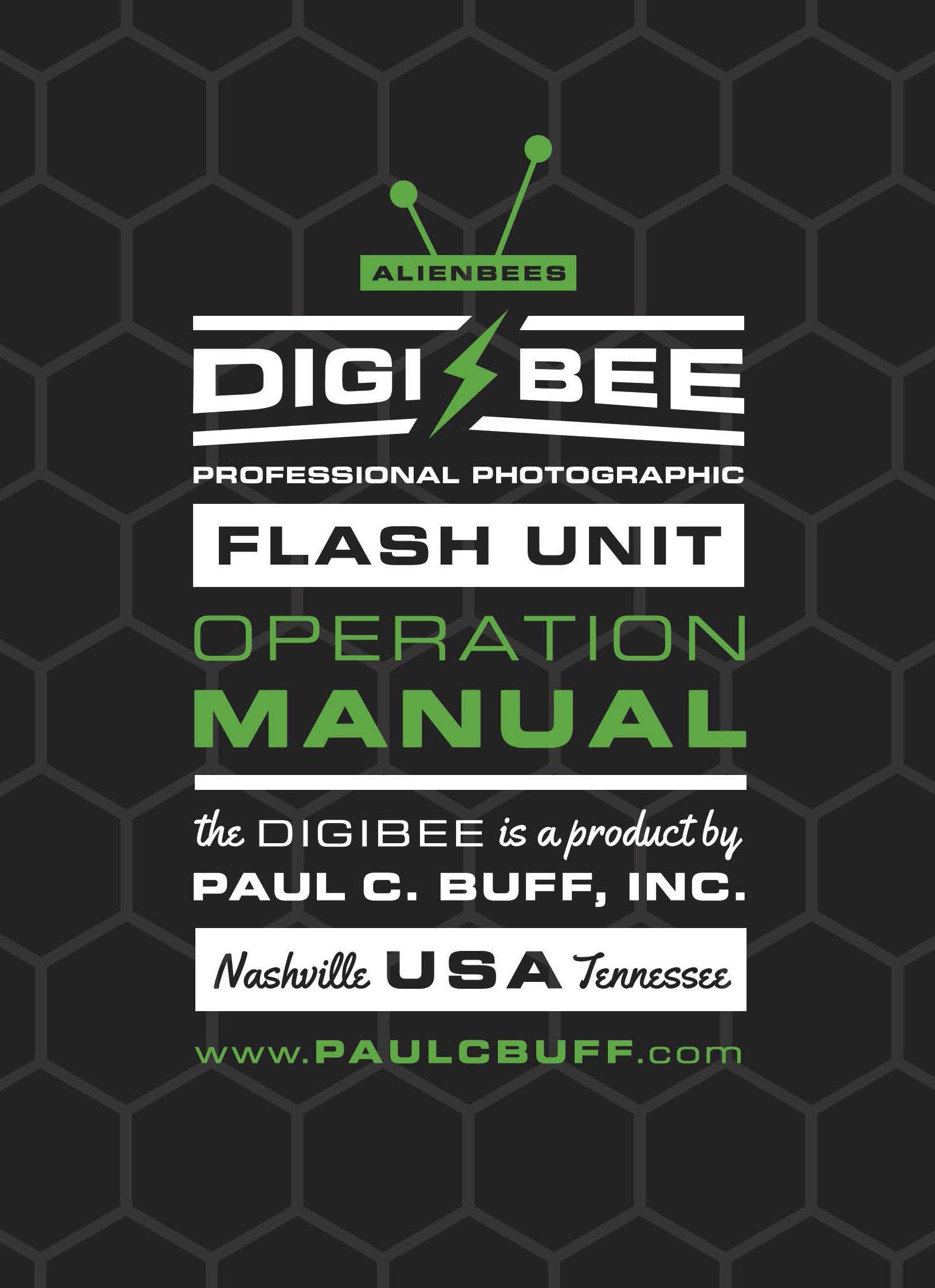 Paul C Buff Inc Manuals And Instructions